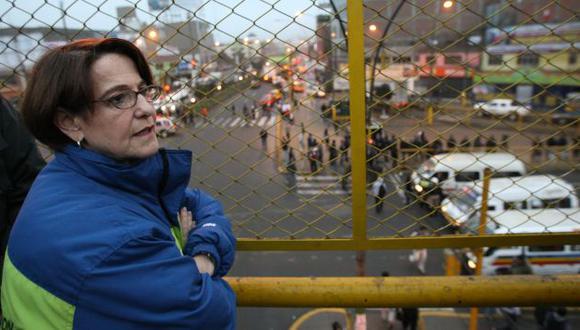 Susana Villarán no logra revertir los índices de desaprobación a su gestión. (Peru21)