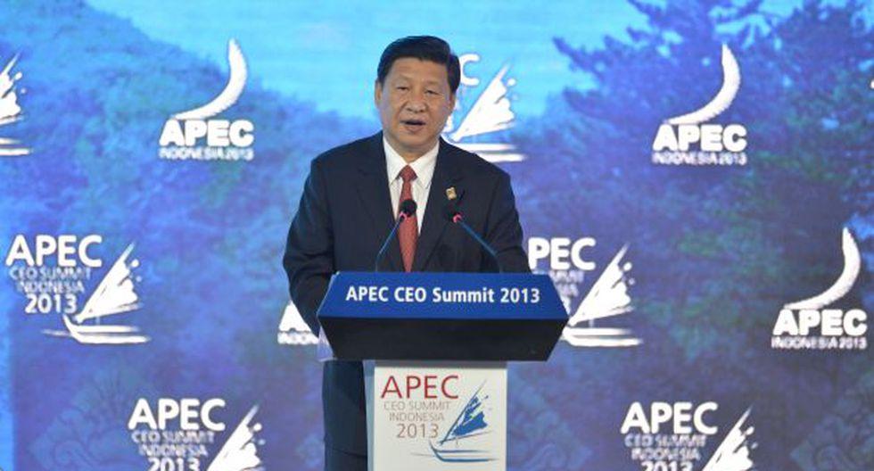 Xi Jinping tranquilizó a sus homólogos ante recelos por reclamos territoriales de Pekín. (AFP)
