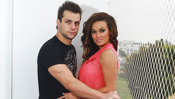 Angie Arizaga y Nicola Porcella serán novios en novela. (USI)