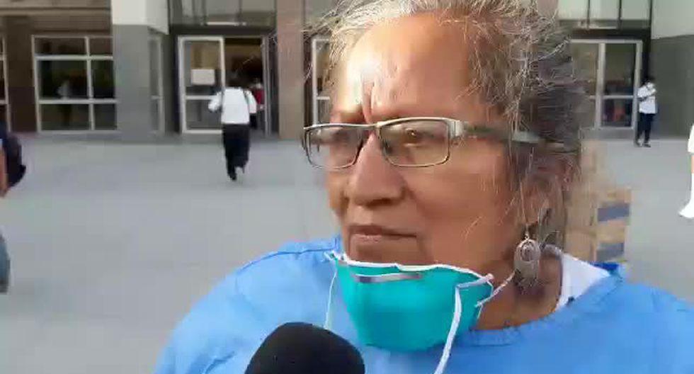 Chiclayo: Jefa de Epidemiología del Hospital Regional de Lambayeque, Daphne Moreno. (Captura de TV)