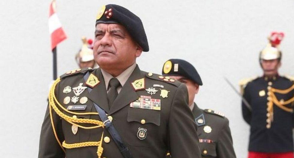 RESPALDO. El general César Astudillo aseguró que la explicación de Cueva es entendible. (GEC)