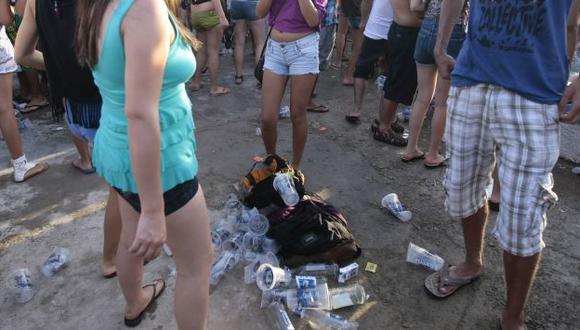 PREOCUPANTE. Para muchos jóvenes, las drogas forman parte de la diversión del verano. (David Vexelman)