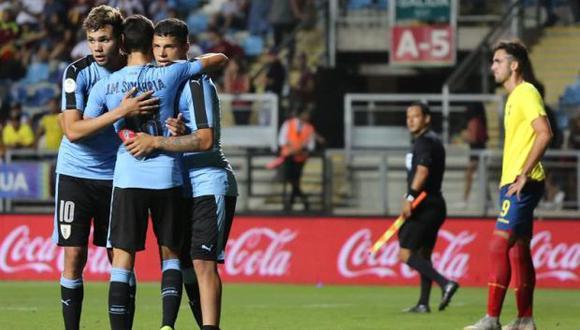 Después de tres partidos, Uruguay es el único equipo sin derrotas y lidera la clasificación con 7 puntos y puede ser campeón de manera anticipada. (Foto: EFE)