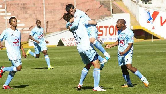 Ciucci (45'), Andy Pando (66') y Rodríguez (70') marcaron para los cusqueños. (USI)