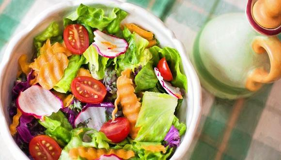 Consume verduras para mantenerte en forma. (Foto: Pixabay)
