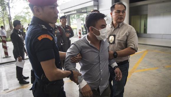 Boonchai Bach, de 40 años, un ciudadano vietnamita con ciudadanía tailandesa y presunto capo del comercio ilegal de especies en peligro de extinción de Asia. (Foto: AFP)