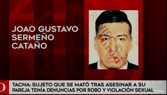 Ayacuchana perdió la vida en manos de su pareja, quien tenía antecedentes policiales. (América TV)