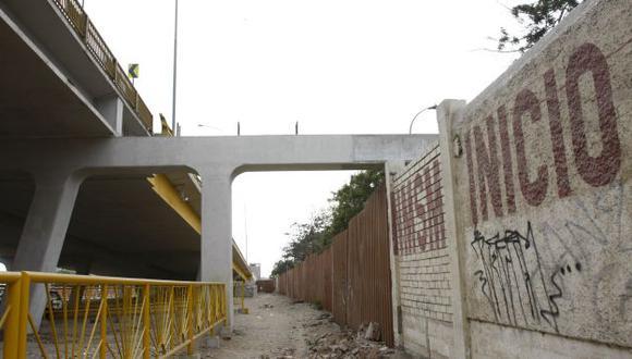 La Municipalidad de Lima informó hace unos días que no se culminará el anillo vial. (USI)