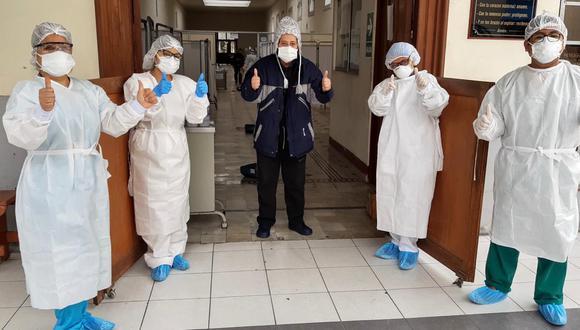El número de recuperados aumentó este martes. (Foto: Ministerio de Salud)