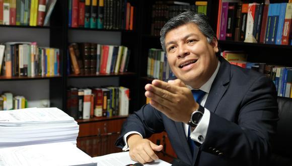 Luciano López espera que el Poder Judicial pueda anular la elección de miembros del TC por considerar que serían actos nulos. (Foto: GEC)