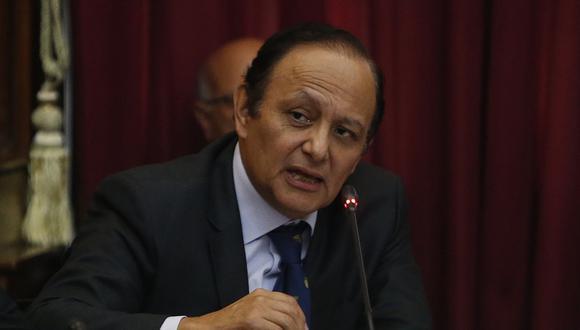 """Gutiérrez advirtió que """"apurar el proceso [de aprobación de leyes] de reforma del sistema de justicia podría generar graves problemas"""". (Foto: GEC)"""