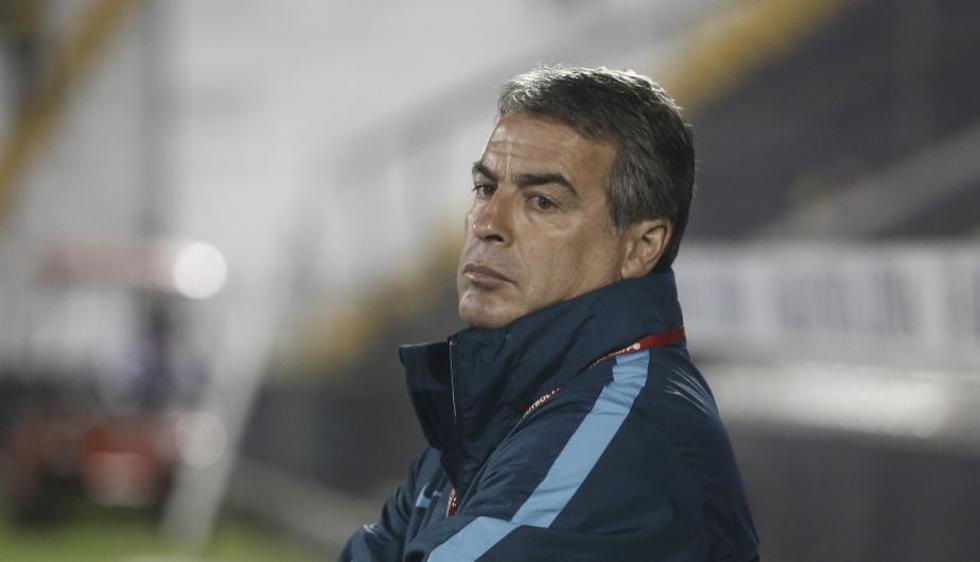 Pablo Bengoechea llegó a Alianza Lima en la temporada 2017.  (César Campos/Perú21)