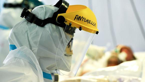 Foto referencial. El Reino Unido es el país más castigado por la pandemia en Europa con casi 123.000 muertes confirmadas por COVID-19. (Foto: Tiziana FABI / AFP).