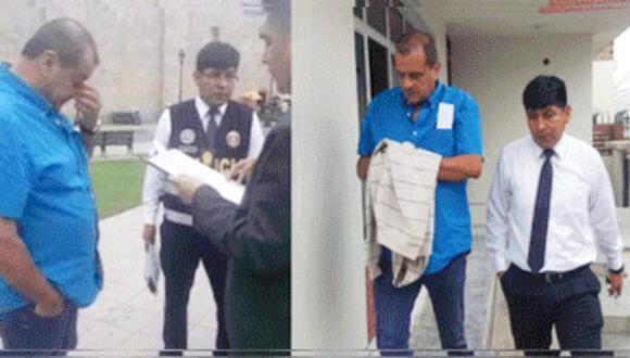 Empresario cae durante pago de coima a funcionario en Moquegua. (PNP)