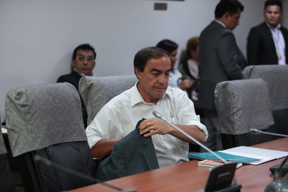 El congresista Yonhy Lescano fue denunciado por una periodista por el presunto delito de acoso sexual (Foto: Hugo Pérez / GEC)