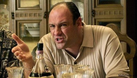 Gandolfini y su magistral interpretación de Tony Soprano. (Mafia Today)