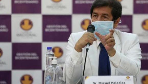 Decano del Colegio Médicos del Perú, Miguel Palacios, detalla cómo se produciría el inicio de una tercera ola del COVID-19. (Foto: GEC)