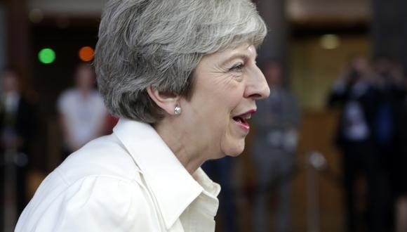 """Tras calificar el incidente de desafortunado, la oficina de May señaló que """"Kim Darroch sigue teniendo el total apoyo de la primera ministra"""". (Foto: EFE)"""