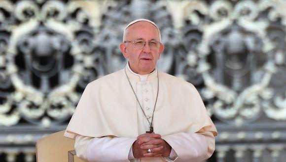 """Sumo Pontífice hizo un llamado para que """"las aguas no sean signo de separación entre los pueblos"""". (Foto: AFP)"""