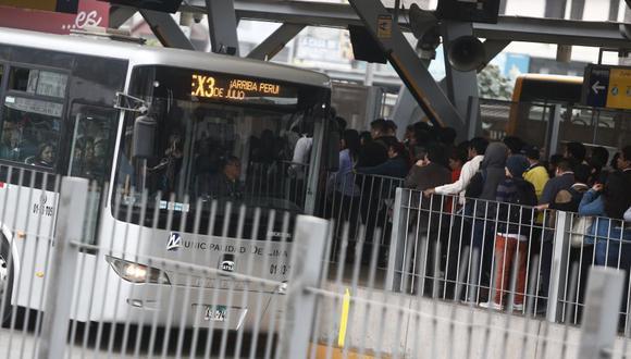 Según informó la misma cuenta de Twitter del Sistema Metropolitano de Transporte en un mensaje, esta situación ya se resolvió. (USI)
