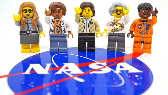 Lanzará set de las cinco miembros clave de la NASA (Facebook LEGO NASA Women)