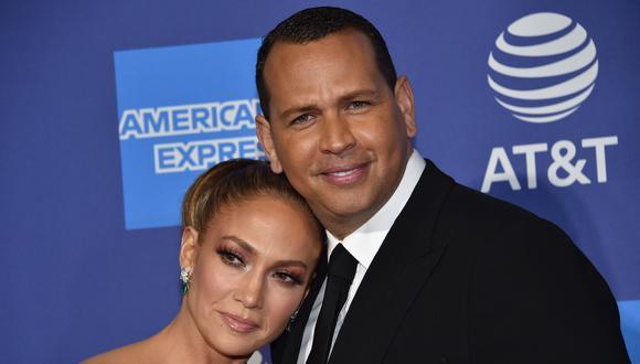 Jennifer Lopez y Alex Rodríguez  son captado en gimnasio en medio de cuarentena. (Foto: AFP)