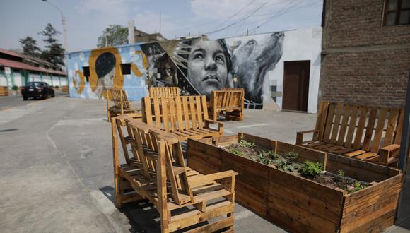Recuperan espacios públicos del barrio de Monserrate. (Foto: Anthony Niño de Guzmán)