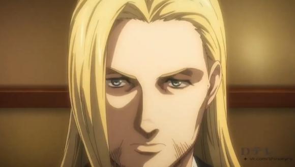 """""""Shingeki no Kyojin"""" 4x04: uno de los miembros de la familia portadora del Titán martillo, al parecer (Foto: Crunchyroll)"""