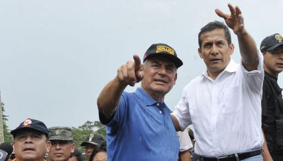 A Ollanta Humala le habría convencido la buena gestión de César Villanueva en San Martín. (Difusión)