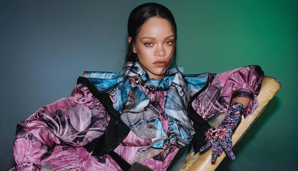 Rihanna subió las fotos que protagonizó para la revista Vogue Hong Kong. (Foto: voguehongkong)