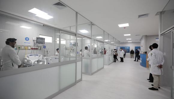 EsSalud amplía número de camas UCI y UCIN en hospital Negreiros y pone en funcionamiento planta de oxígeno para pacientes COVID-19. (Foto: Jessica Vicente/@photo.gec)