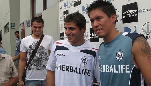 En 2009, ambos fueron compañeros en Matute y los dos útimos años fueron compañeros en la San Martín. (USI)