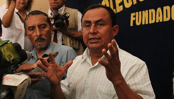 Gregorio Santos consulta con Patria Roja su intención de retomar el diálogo con el Gobierno. (Fabiola Valle)
