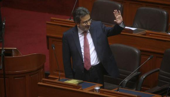HACE LLAMADO. Premier pide apoyo de todos los sectores para enfrentar ola delictiva en el país. (David Vexelman)