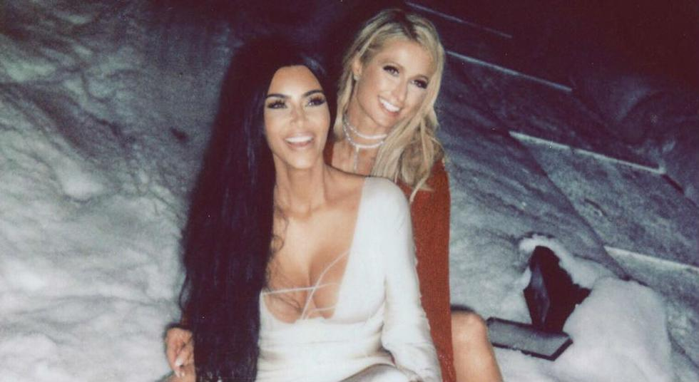 Kim Kardashian saludó a Paris Hilton Por su cumpleaños. (Foto: Instagram)