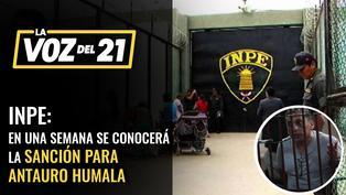 INPE: en una semana se conocerá la sanción para Antauro Humala