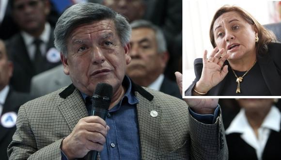 """""""César Acuña me pegaba, me maltrataba y me escupía"""", ratifica su ex esposa Rosa Núñez."""