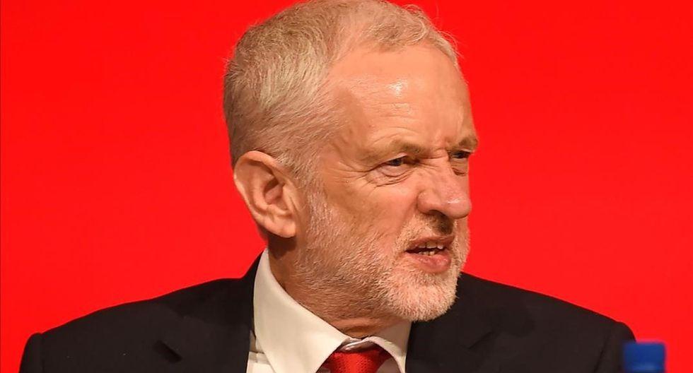 Jeremy Corbyn, líder opositor del Reino Unido. (Foto: AFP)