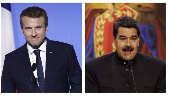Emmanuel Macron lanzó duras críticas contra el régimen de Nicolás Maduro (Efe).