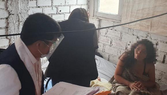 Una bebé de dos meses habría sido víctima de los delitos de abuso, producción y publicación de pornografía infantil, en Los Olivos.
