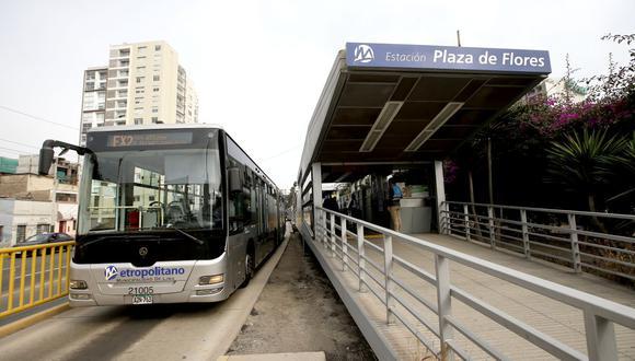 Servicios de transporte público en Lima y Callao tendrán horario especial por el feriado de Semana Santa. (Foto: Lino Chipana / GEC)