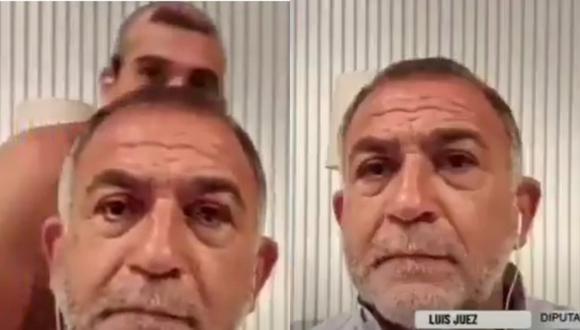 ¡Insólito! Hombre se luce desnudo frente a la cámara durante entrevista de su papá en Argentina