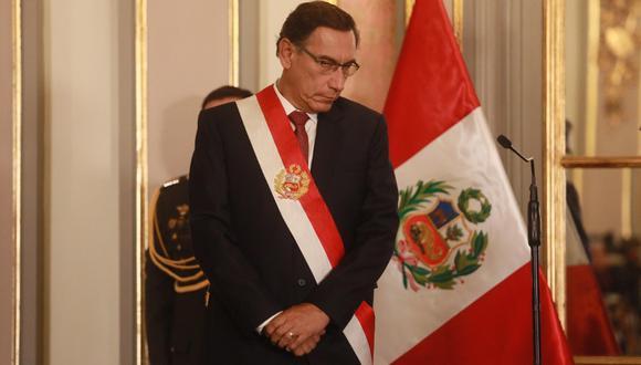 Investigación sobre Martín Vizcarra es materia de tensión en el Ministerio Público (Juan Ponce/EFE).