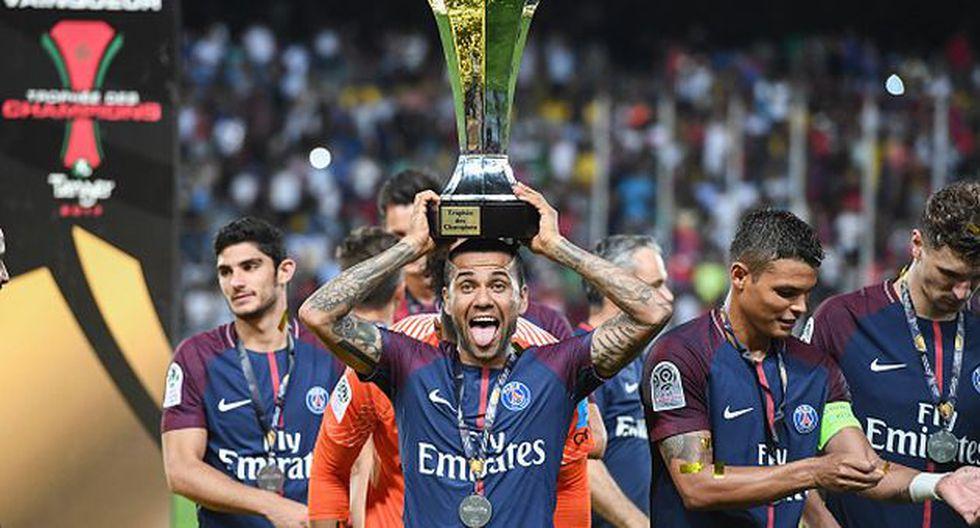 El PSG levantó su primer título de la temporada. (Gettyimages)