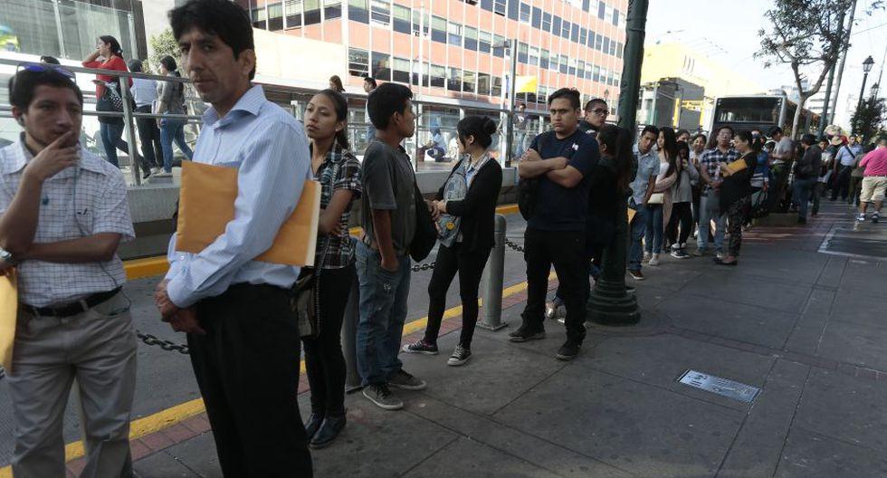 Empleo para jóvenes. (Perú21)