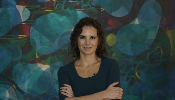 Joanna Lombardi es la productora del programa 'Resiste teatro'.