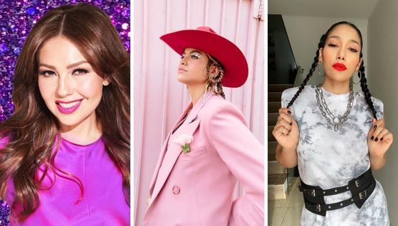 Thalía, Farina y Sofía Reyes preparan un nuevo episodio dedicado a la música ranchera de México. (Fotos: Instagram / @thalia / @sofiareyes / @farina).