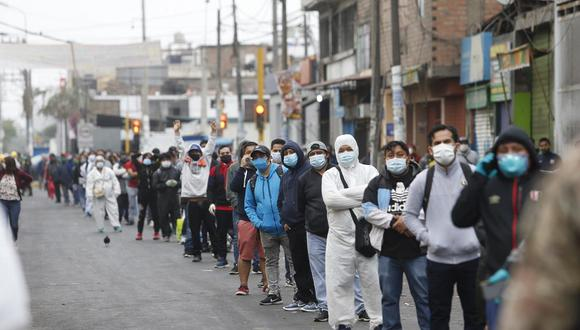 La cantidad de nuevos contagios aumentó el jueves. (Foto: Violeta Ayasta/GEC)