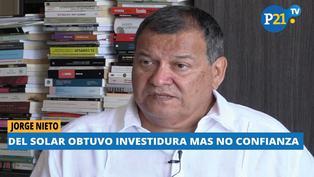 """Jorge Nieto: """"Sería un error hacer una reforma a empujones"""""""