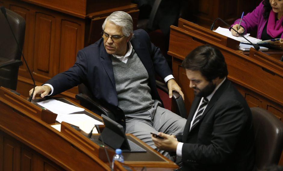 Gino Costa y Alberto de Belaunde integraban la Bancada Liberal y ahora tentarán la reelección en la lista por Lima. (Foto: GEC)